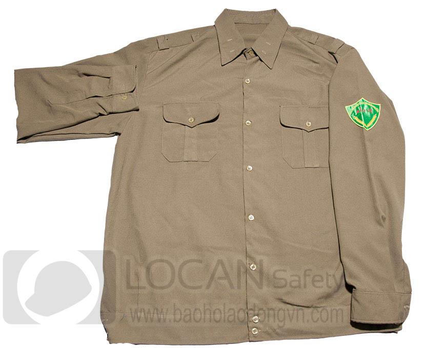 Trang phục bảo vệ dân phố thu đông