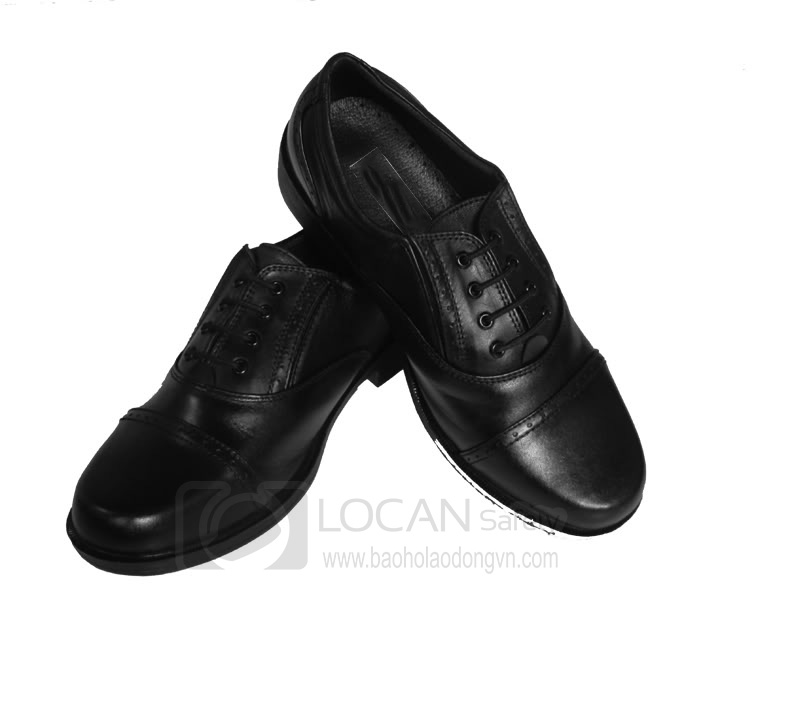 Giày da bảo vệ dân phố