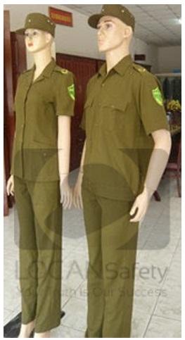 Trang phục bảo vệ dân phố xuân hè