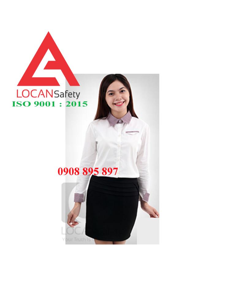 Đồng phục nữ văn phòng Lộc An xinh