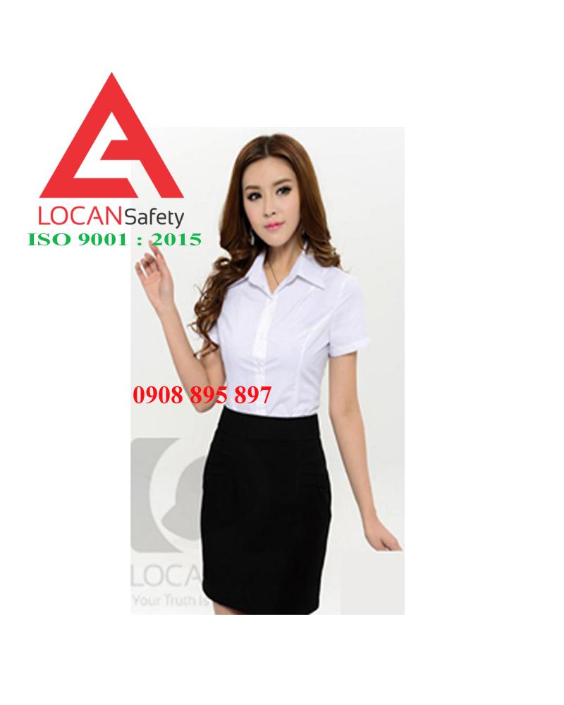 Đồng phục nữ văn phòng Lộc An đẹp