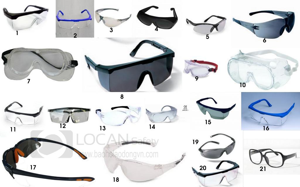 Các loại kính bảo hộ lao động