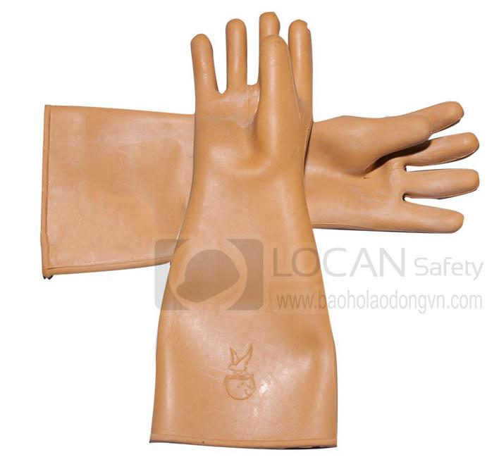 Găng tay bảo hộ cao su cách điện